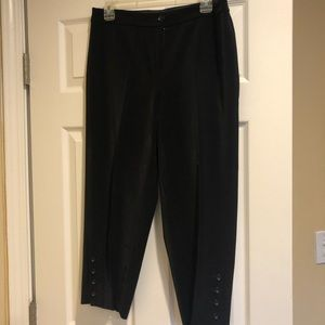 WHBM pants with button detail.